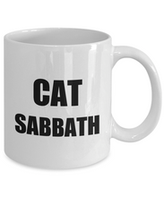 Load image into Gallery viewer, Cat Sabbath Mug Funny Gift Idea for Novelty Gag Coffee Tea Cup-Coffee Mug