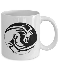 Cat Ying Yang Mug Funny Gift Idea for Novelty Gag Coffee Tea Cup-[style]