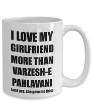 Load image into Gallery viewer, Varzesh-E Pahlavani Boyfriend Mug Funny Valentine Gift Idea For My Bf Lover From Girlfriend Coffee Tea Cup-Coffee Mug