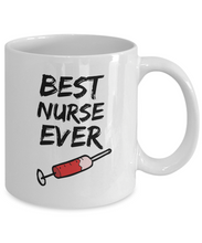 Load image into Gallery viewer, Nurse Mug - Best Nurse Ever - Funny Gift for Nurse-Coffee Mug