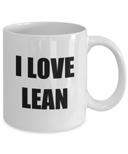 Load image into Gallery viewer, I Love Lean Mug Funny Gift Idea Novelty Gag Coffee Tea Cup-[style]