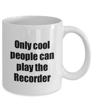 Load image into Gallery viewer, Recorder Player Mug Musician Funny Gift Idea Gag Coffee Tea Cup-Coffee Mug