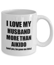 Load image into Gallery viewer, Aikido Wife Mug Funny Valentine Gift Idea For My Spouse Lover From Husband Coffee Tea Cup-Coffee Mug