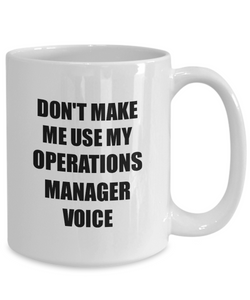Operations Manager Mug Coworker Gift Idea Funny Gag For Job Coffee Tea Cup-Coffee Mug