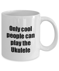 Ukulele Player Mug Musician Funny Gift Idea Gag Coffee Tea Cup-Coffee Mug