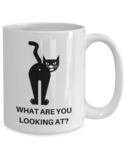 Load image into Gallery viewer, Cat Butthole Butt Hole Cat Cofffees Mug Funny Gift Idea for Novelty Gag Coffee Tea Cup-[style]