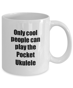 Pocket Ukulele Player Mug Musician Funny Gift Idea Gag Coffee Tea Cup-Coffee Mug