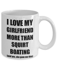 Load image into Gallery viewer, Squirt Boating Boyfriend Mug Funny Valentine Gift Idea For My Bf Lover From Girlfriend Coffee Tea Cup-Coffee Mug
