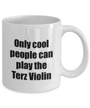 Load image into Gallery viewer, Terz Violin Player Mug Musician Funny Gift Idea Gag Coffee Tea Cup-Coffee Mug