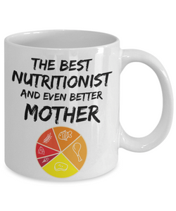 Nutritionist Mom Mug - Best Nutritionist Mother Ever - Funny Gift for Nutrition Mama-Coffee Mug