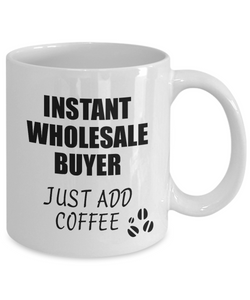 Wholesale Buyer Mug Instant Just Add Coffee Funny Gift Idea for Coworker Present Workplace Joke Office Tea Cup-Coffee Mug