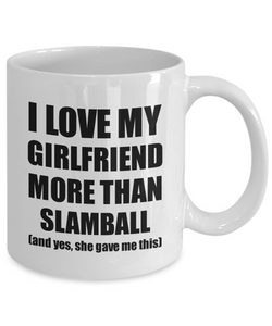 Slamball Boyfriend Mug Funny Valentine Gift Idea For My Bf Lover From Girlfriend Coffee Tea Cup-Coffee Mug