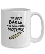 Load image into Gallery viewer, Funny Baker Mom Mug Best Mother Funny Gift Coffee Cup-Coffee Mug