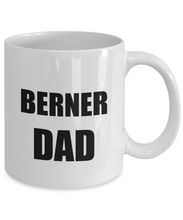 Load image into Gallery viewer, Berner Dad Mug Dog Lover Funny Gift Idea for Novelty Gag Coffee Tea Cup-[style]