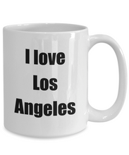 Load image into Gallery viewer, I Love Los Angeles Mug Funny Gift Idea Novelty Gag Coffee Tea Cup-Coffee Mug