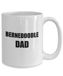 Bernedoodle Dad Mug Dog Lover Funny Gift Idea for Novelty Gag Coffee Tea Cup-Coffee Mug