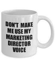 Load image into Gallery viewer, Marketing Director Mug Coworker Gift Idea Funny Gag For Job Coffee Tea Cup Voice-Coffee Mug