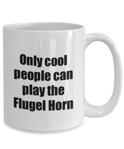 Flugel Horn Player Mug Musician Funny Gift Idea Gag Coffee Tea Cup-Coffee Mug
