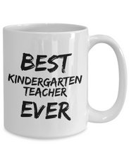 Load image into Gallery viewer, Kindergarden Teacher Mug Kinder Garden Best Ever Funny Gift Idea for Novelty Gag Coffee Tea Cup-[style]