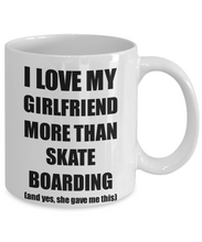 Load image into Gallery viewer, Skate Boarding Boyfriend Mug Funny Valentine Gift Idea For My Bf Lover From Girlfriend Coffee Tea Cup-Coffee Mug