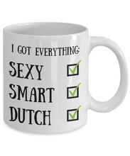 Load image into Gallery viewer, Dutch Coffee Mug Netherlands Pride Sexy Smart Funny Gift for Humor Novelty Ceramic Tea Cup-Coffee Mug