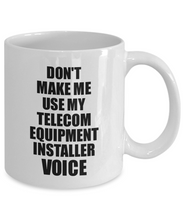 Load image into Gallery viewer, Telecom Equipment Installer Mug Coworker Gift Idea Funny Gag For Job Coffee Tea Cup Voice-Coffee Mug