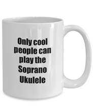 Load image into Gallery viewer, Soprano Ukulele Player Mug Musician Funny Gift Idea Gag Coffee Tea Cup-Coffee Mug