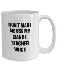 Load image into Gallery viewer, Dance Teacher Mug Coworker Gift Idea Funny Gag For Job Coffee Tea Cup-Coffee Mug