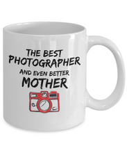 Load image into Gallery viewer, Photo Lover Mom Mug Best Photographer Mother Funny Gift for Novelty Gag Coffee Tea Cup-Coffee Mug