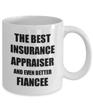Load image into Gallery viewer, Insurance Appraiser Fiancee Mug Funny Gift Idea for Her Betrothed Gag Inspiring Joke The Best And Even Better Coffee Tea Cup-Coffee Mug