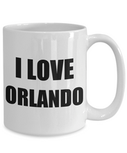 Load image into Gallery viewer, I Love Orlando Mug Funny Gift Idea Novelty Gag Coffee Tea Cup-Coffee Mug