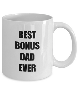 Bonus Dad Mug Best Funny Gift Idea for Novelty Gag Coffee Tea Cup-Coffee Mug