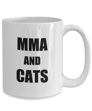 Load image into Gallery viewer, Cat Mma Mug Funny Gift Idea for Novelty Gag Coffee Tea Cup-Coffee Mug