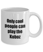 Load image into Gallery viewer, Koboz Player Mug Musician Funny Gift Idea Gag Coffee Tea Cup-Coffee Mug
