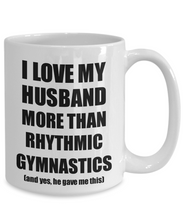 Load image into Gallery viewer, Rhythmic Gymnastics Wife Mug Funny Valentine Gift Idea For My Spouse Lover From Husband Coffee Tea Cup-Coffee Mug
