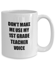 Load image into Gallery viewer, 1st Grade Teacher Mug Coworker Gift Idea Funny Gag For Job Coffee Tea Cup-Coffee Mug