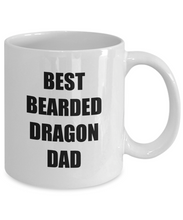Load image into Gallery viewer, Bearded Dragon Dad Mug Lizard Lover Reptile Funny Gift Idea for Novelty Gag Coffee Tea Cup-Coffee Mug