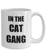 Load image into Gallery viewer, Cat Gang Mug Funny Gift Idea for Novelty Gag Coffee Tea Cup-Coffee Mug