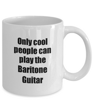 Load image into Gallery viewer, Baritone Guitar Player Mug Musician Funny Gift Idea Gag Coffee Tea Cup-Coffee Mug
