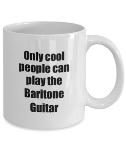 Baritone Guitar Player Mug Musician Funny Gift Idea Gag Coffee Tea Cup-Coffee Mug