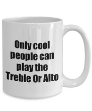 Load image into Gallery viewer, Treble Or Alto Player Mug Musician Funny Gift Idea Gag Coffee Tea Cup-Coffee Mug