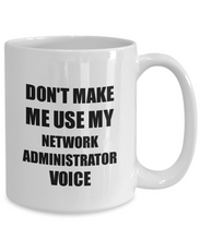 Load image into Gallery viewer, Network Administrator Mug Coworker Gift Idea Funny Gag For Job Coffee Tea Cup-Coffee Mug