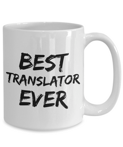Translator Mug Best Translate Ever Funny Gift for Coworkers Novelty Gag Coffee Tea Cup-Coffee Mug