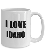 Load image into Gallery viewer, I Love Idaho Mug Funny Gift Idea Novelty Gag Coffee Tea Cup-Coffee Mug