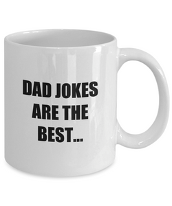 Dad Jokes Mug Best Joke Funny Gift Idea for Novelty Gag Coffee Tea Cup-Coffee Mug