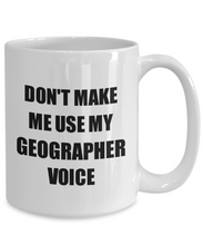 Load image into Gallery viewer, Geographer Mug Coworker Gift Idea Funny Gag For Job Coffee Tea Cup-Coffee Mug