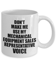 Load image into Gallery viewer, Mechanical Equipment Sales Representative Mug Coworker Gift Idea Funny Gag For Job Coffee Tea Cup Voice-Coffee Mug