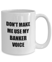 Load image into Gallery viewer, Banker Mug Coworker Gift Idea Funny Gag For Job Coffee Tea Cup-Coffee Mug