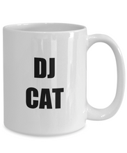 Load image into Gallery viewer, Dj Cat Mug Funny Gift Idea for Novelty Gag Coffee Tea Cup-Coffee Mug