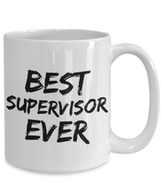 Load image into Gallery viewer, Supervisor Mug Boss Patron Best Ever Funny Gift for Coworkers Novelty Gag Coffee Tea Cup-Coffee Mug